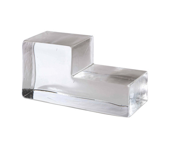 Mattoni in vetro   Form elle dx by Poesia   Decorative glass