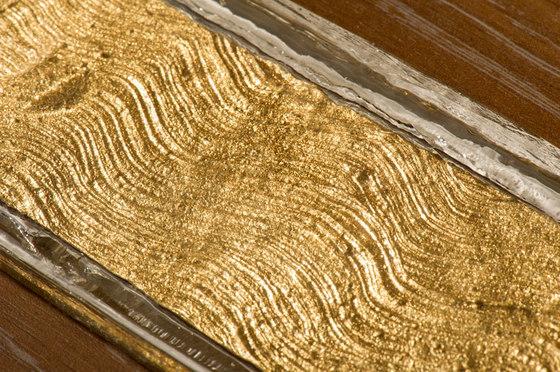 Aurantia texture | Cosmic wave de Poesia | Verre décoratif