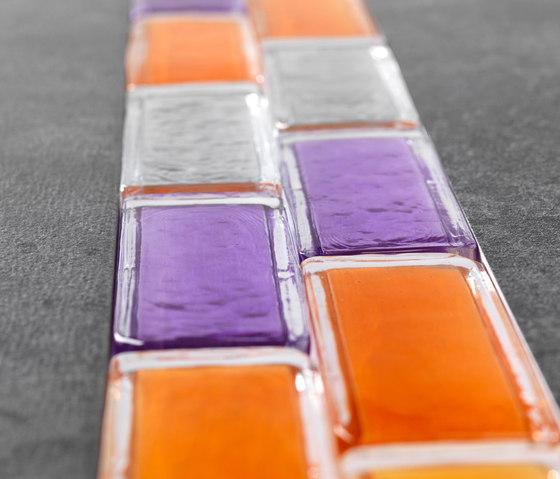 Vetroattivo | Listelli by Poesia | Decorative glass