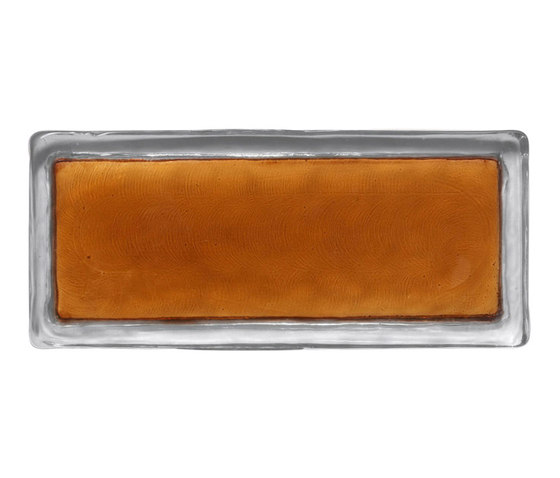 Vetroattivo Gamma | perfect caramel by Poesia | Decorative glass