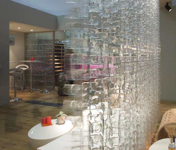 Meteore Ariel by Poesia | Decorative glass