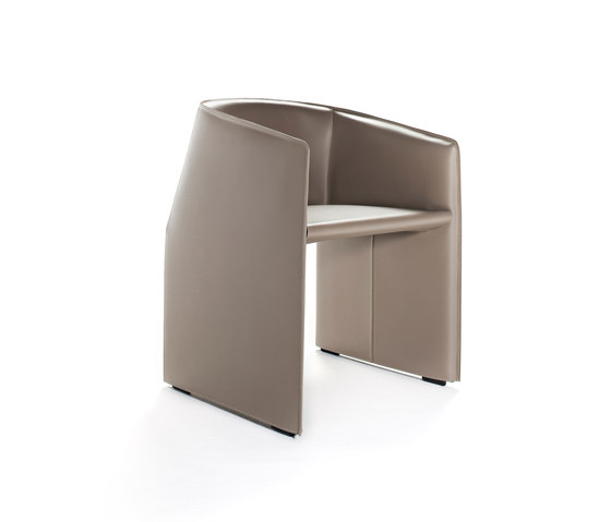 Plau chair by Tecno | Visitors chairs / Side chairs
