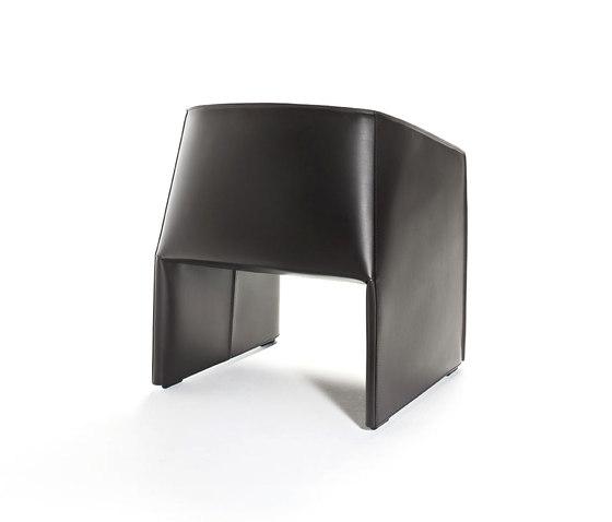 Plau armchair by Tecno | Lounge chairs