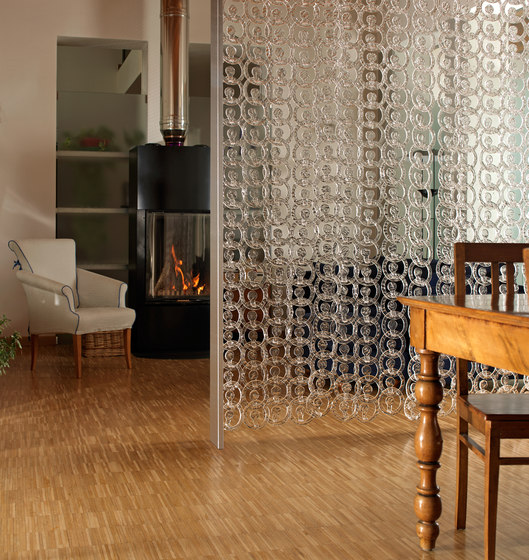 Meteore Sirio by Poesia | Decorative glass
