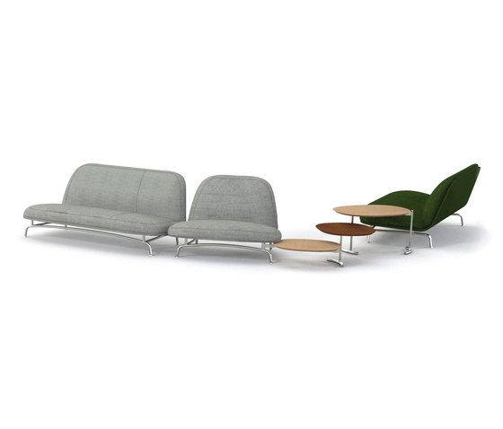 Archipelago by Tecno | Modular seating elements