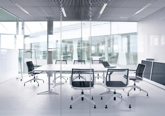 Workout Konferenztischanlage de planmöbel | Tables modulaires