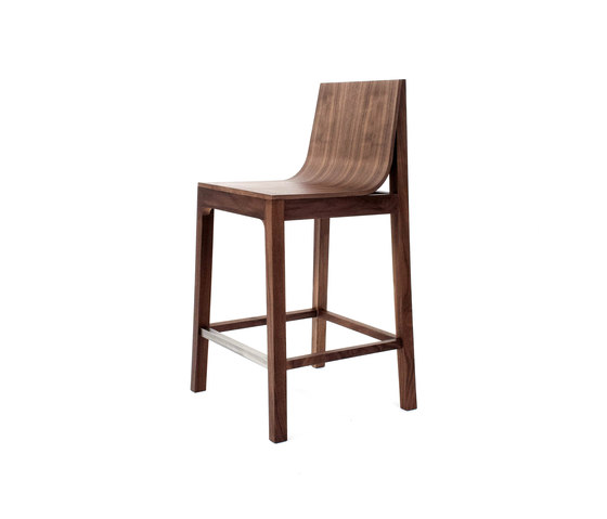 Drape high stool von Foundry | Barhocker