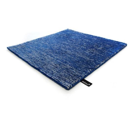 Jaybee solid brilliant blue von Miinu | Formatteppiche