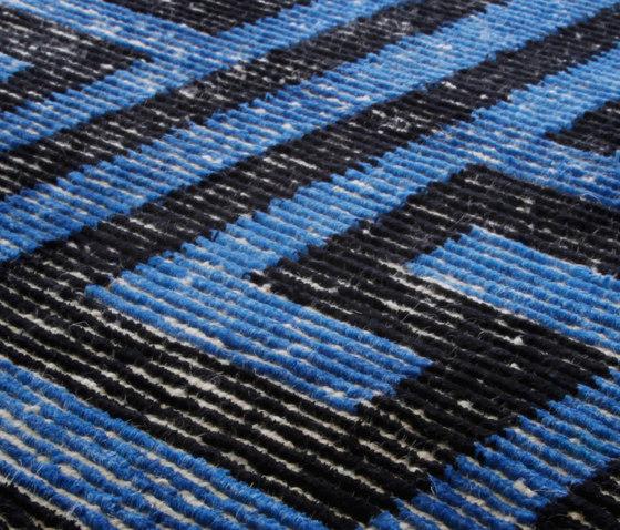 Jaybee Vol II brilliant blue by Miinu | Rugs / Designer rugs