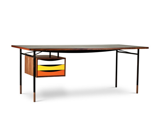 Nyhavn Table and Tray Unit von House of Finn Juhl - Onecollection | Schreibtische