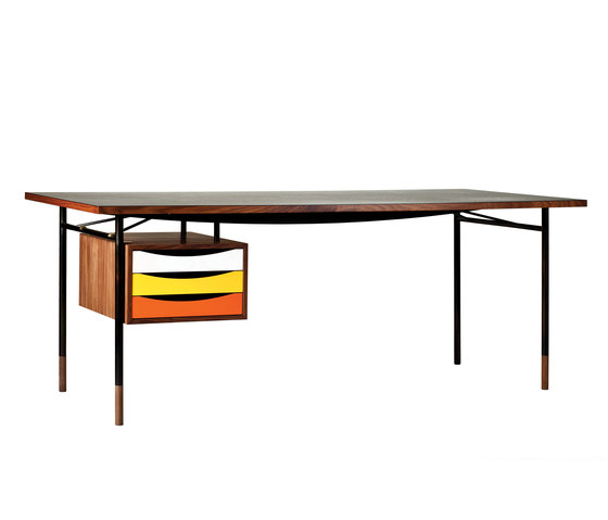 Nyhavn Table and Tray Unit by House of Finn Juhl - Onecollection | Desks