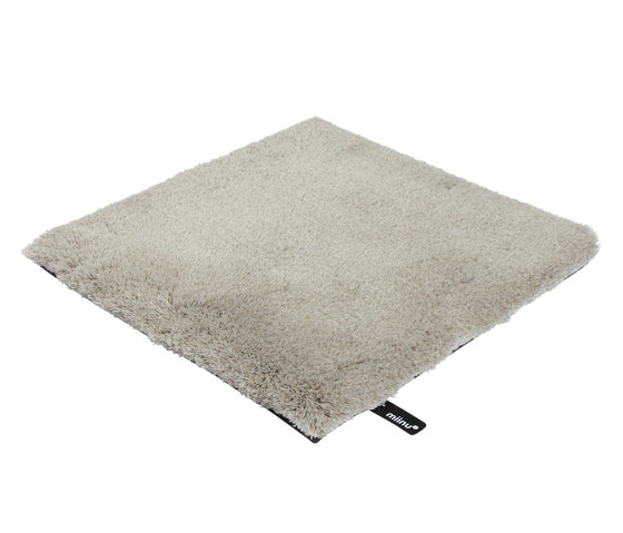 Tribes squared 34 beige gray by Miinu | Rugs