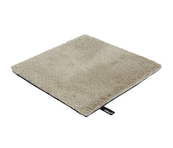 Tribes squared 25 beige brown by Miinu | Rugs