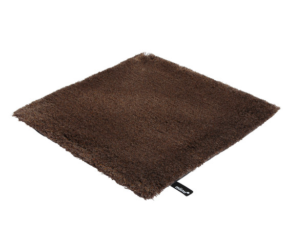 Tribes squared 34 cocoa brown by Miinu | Rugs