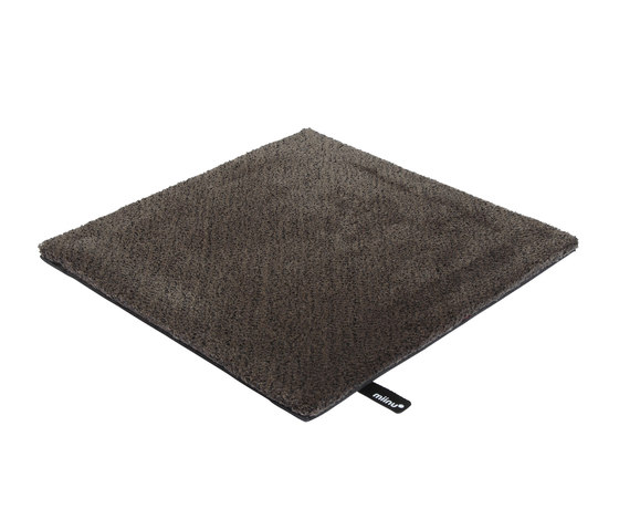Tribes squared 16 charcoal gray by Miinu | Rugs