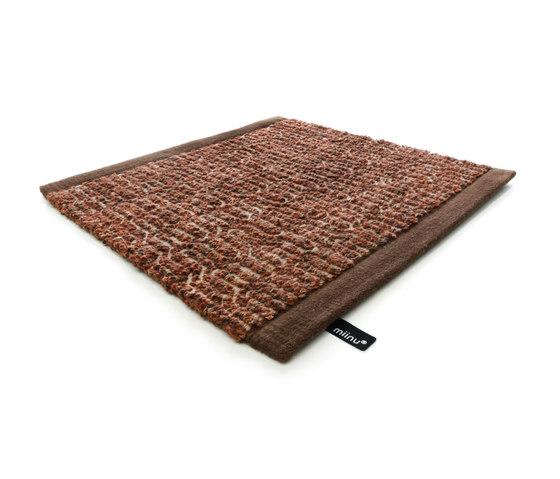 Zigzag copper brown by Miinu | Rugs / Designer rugs