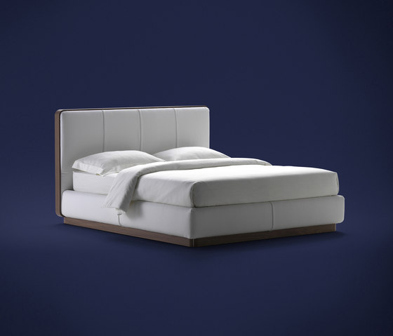 Ermes Bed by Flou | Double beds