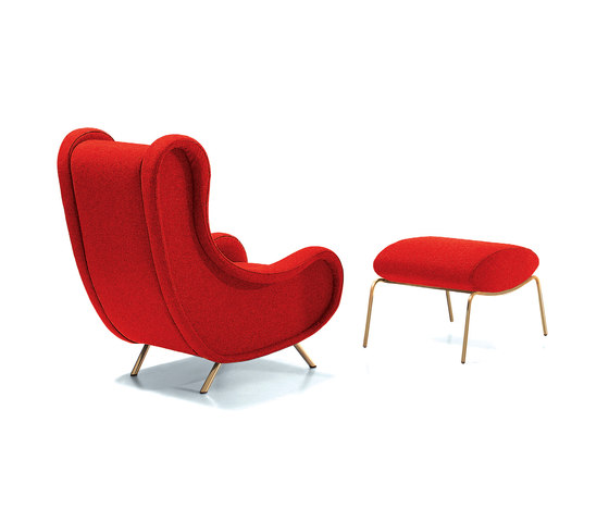 Sir armchair & pouf by ARFLEX | Armchairs