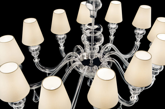 Ran Round by Barovier&Toso | Ceiling suspended chandeliers