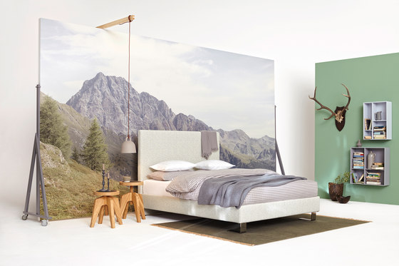 swissbed silhouette by Swissflex | Double beds