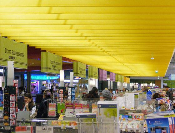 Drop Stripe by PROCÉDÉS CHÉNEL | Back-illuminated ceilings