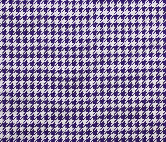 Jacquards Pied de Poule Purple de Sunbrella | Tissus d'ameublement d'extérieur