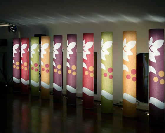 Light Columns de PROCÉDÉS CHÉNEL | Tótems informativos / Puntos de información