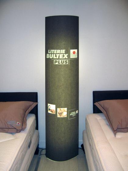 Light Columns by PROCÉDÉS CHÉNEL | Freestanding displays