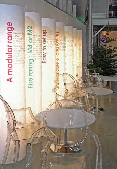 Light Columns von PROCÉDÉS CHÉNEL | Stand-Info- / Werbedisplays