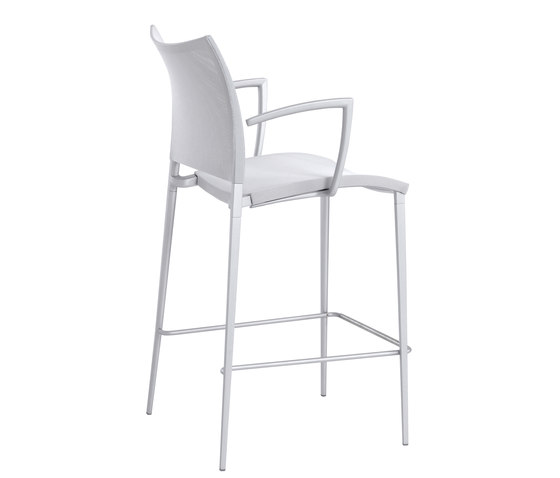 Sand Air barstool with armrests by Desalto | Bar stools