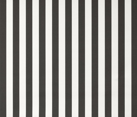Solids & Stripes Yacht Stripe Charcoal by Sunbrella | Outdoor upholstery fabrics
