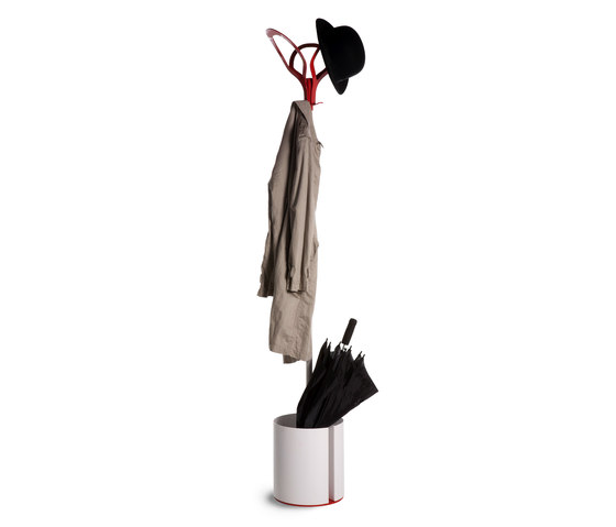 Foliage Hanger with removable pot by Verde Profilo | Freestanding wardrobes