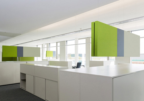 Vivid open space combinations by acousticpearls | Space dividers