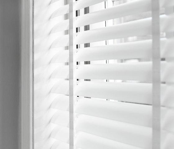 Venetian blinds transparent sistemas a cordel de ann for Www timberblinds com