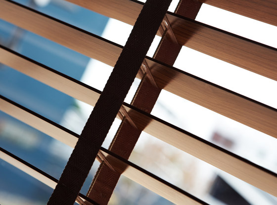 Venetian Blinds wood by Ann Idstein | Cord operated systems