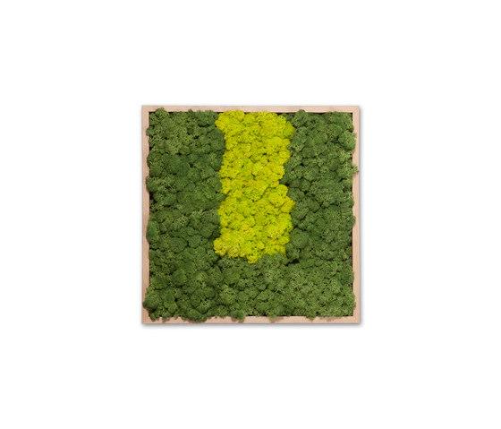 Moss painting S Picture de Verde Profilo | Décoration murale