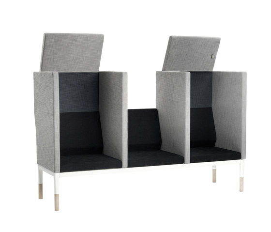 Reform with back by Johanson | Modular seating elements