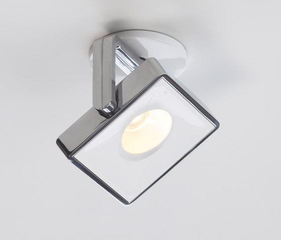 STUDIO UP ROUND 13 alu pol/white by Tobias Grau | Ceiling-mounted spotlights