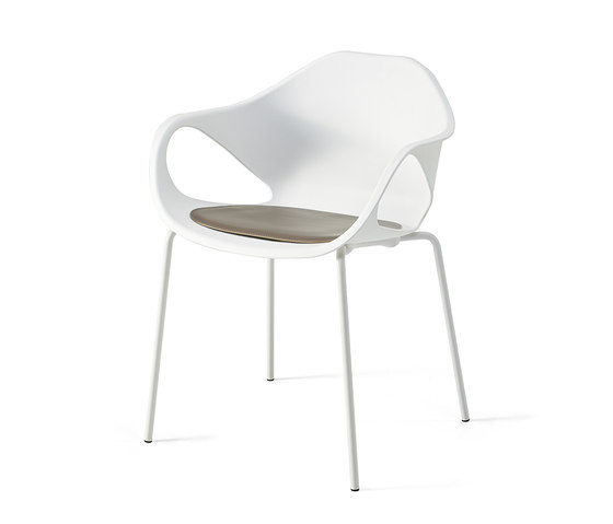 Nina by Gallotti&Radice | Multipurpose chairs