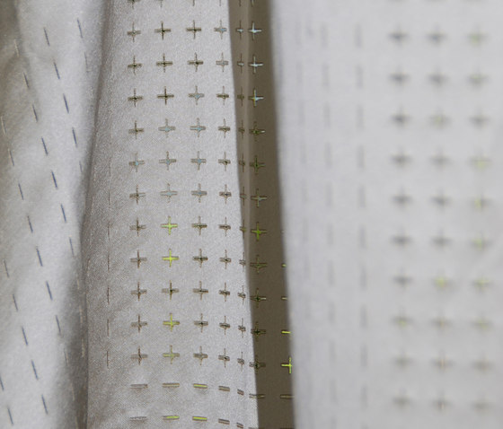 Plus Minus de Christian Fischbacher | Tejidos para cortinas