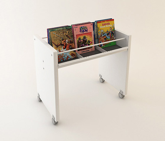 BK Roll by IDM Coupechoux | Book trolleys