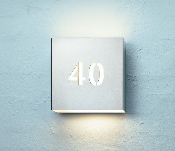 Square 270 by FOCUS Lighting | Wall lights
