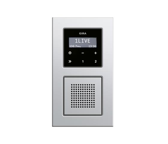 E22 | RDS flush-mounted radio di Gira | Sistemi radio