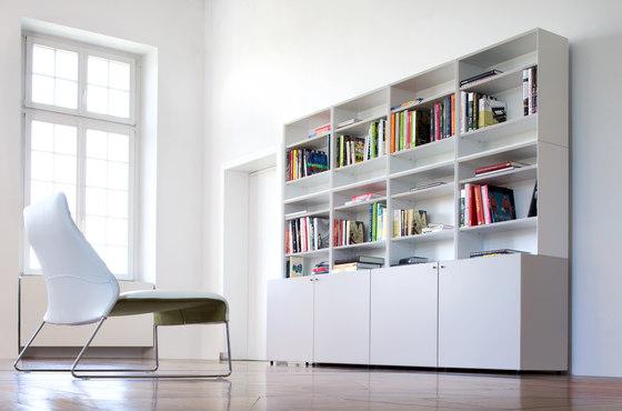 Quaro by Flötotto | Wall storage systems