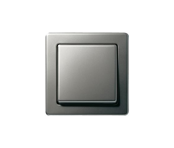 Edelstahl | Switch range di Gira | interuttori pulsante