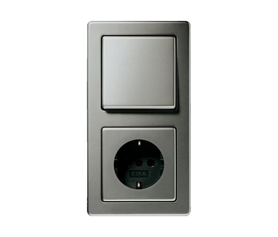 edelstahl von gira schalterprogramm telefonanschluss. Black Bedroom Furniture Sets. Home Design Ideas