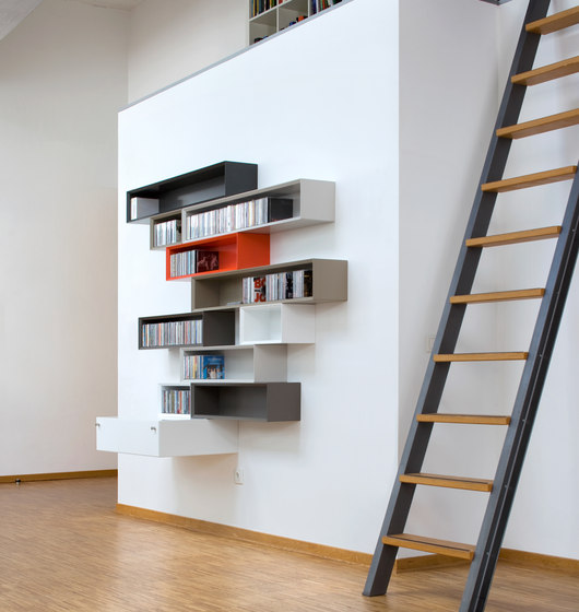 Quaro by Flötotto | Shelving systems