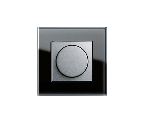 Esprit Glass | Rotary dimmer by Gira | Rotary dimmers