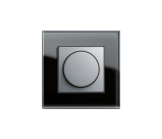 Esprit Glass | Rotary dimmer di Gira | Dimmer manopola