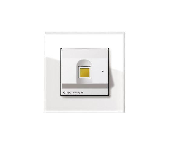 Esprit Glass | Keyless In by Gira | Fingerprint scanners